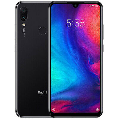 "Xiaomi Redmi Note 7 4GB 64GB Nero Smartphone 6.3"" Versione Globale Spina Europea"