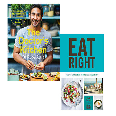 Doctor's Kitchen Supercharge your health  with Eat Right 2 Books Collection set