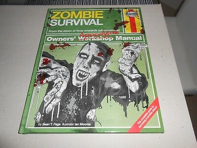Zombie Survival Haynes Owners Apocalypse Haynes Manual Book