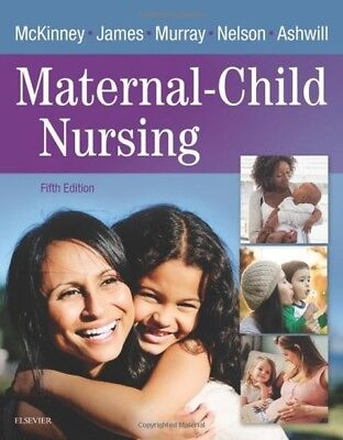 TEXT BOOK Maternal-Child Nursing 5th Edition by McKinney ⭐️SEE NOTE⭐️