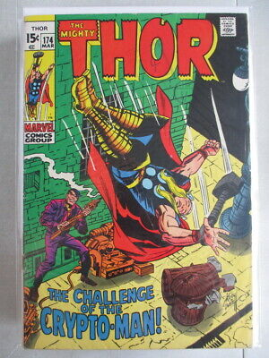 Mighty Thor Vol. 1 (1966-2011) #174 VG/FN (Cover Detached)
