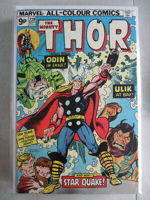 Mighty Thor Vol. 1 (1966-2011) #239 VG/FN UK Price Variant