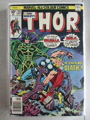 Mighty Thor Vol. 1 (1966-2011) #251 VG+ UK Price Variant