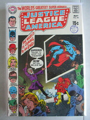 Justice League of America Vol. 1 (1960-1987) #80 FN/VF