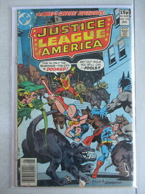Justice League of America Vol. 1 (1960-1987) #174 GD+ UK Price Variant