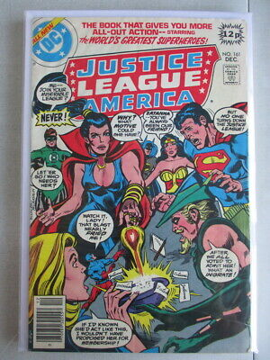 Justice League of America Vol. 1 (1960-1987) #161 VG/FN UK Price Variant