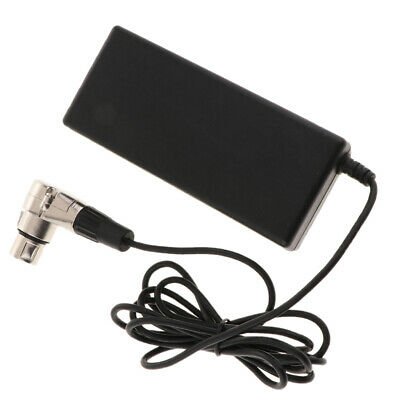 Camera Battery Charger AC Adapter 12V for Cannon Male Connector 4 Core Jack