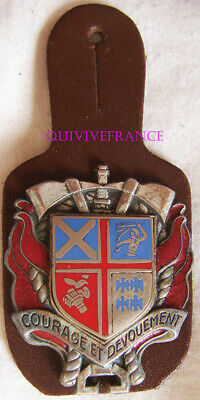 In12362 - Insigne Sapeurs Pompiers S.s.i.s. 45 - 921, Taverny
