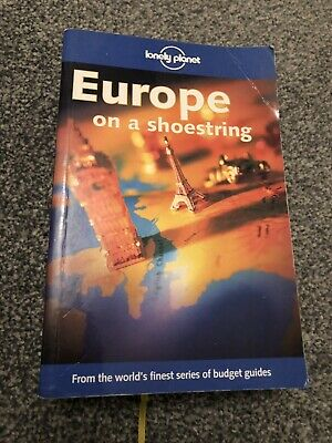 Lonely Planet Europe On A Shoestring Travel Book Good Condition