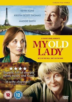 My Old Lady Maggie Smith Kevin Kline K S Thomas Curzon Uk 2014 Region 2 Dvd New