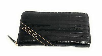 b21c391855 Portafoglio Mario Valentino Dumbo Zip Around Pvc Nero Donna As19Va06