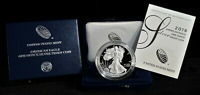 2019-W American Silver Eagle Proof Set W/OGP & COA (asep19)
