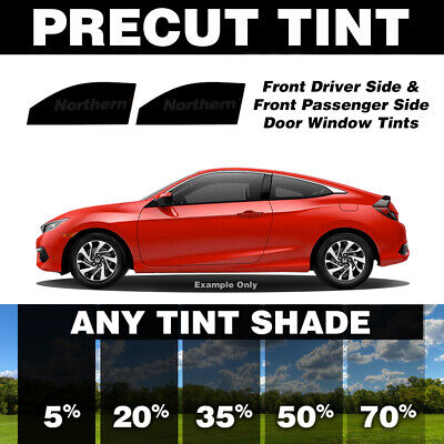 PreCut Film Front Two Door Windows Any Tint Shade for All Toyota Echo 2000-2005