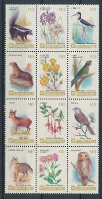 [72720] Chile Fauna/Flora good set Very Fine MNH stamps