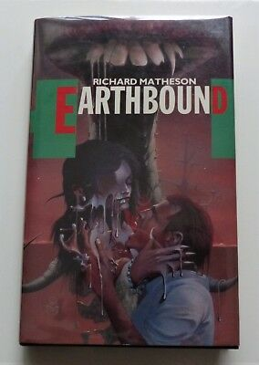 RICHARD MATHESON - EARTHBOUND - UK 1st Edition 1989 - NEAR FINE