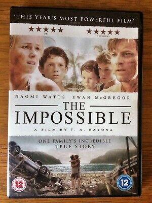 The Impossible (DVD, 2013) - Naomi Watts, Ewan McGregor