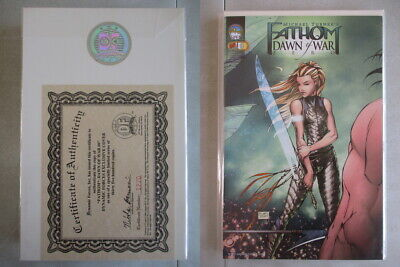 Fathom Dawn of War #0 DF Exclusive Cover Ltd. to 3500 With COA
