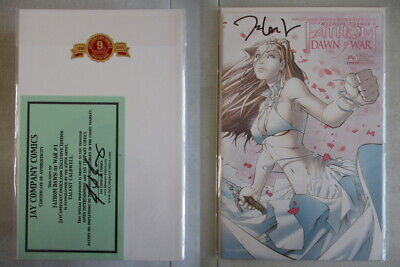 Fathom Dawn of War #1 Exclusive Signed by Talent Caldwell With COA