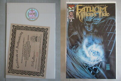 Fathom Killian's Tide #1 DF Gold Foil Edition Ltd. to 1500 With COA