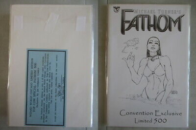 Fathom Preview Edition Convention Exclusive Ltd. to 500 With COA
