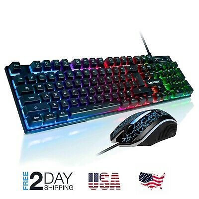 fortnite keyboard mouse set adapter for ps4 ps3 xbox one and xbox 360 gaming led - fortnite mouse and keyboard xbox