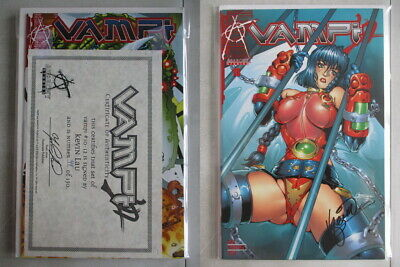 Vampi #10-12 Set Signed by Kevin Lau Ltd. to 150 With COA