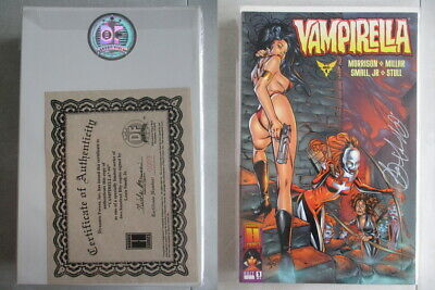 Vampirella #4 Signed by Louis Small Jr. Ltd. to 250 With COA