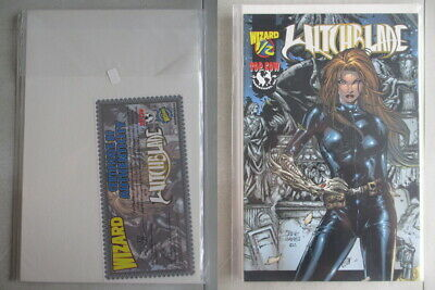 Witchblade #1/2 Wizard Edition With COA