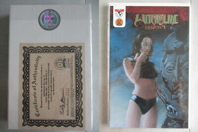 Witchblade Demon #1 DF Exclusive Cover B Foil Ltd. to 1000 With COA