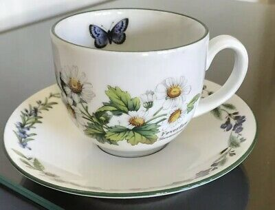 Royal Worcester Worcester Herbs Tea Cup and Saucer