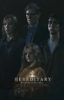 """Hereditary movie poster (b) 11"""" x 17"""" - Toni Collette - (2018) Horror"""