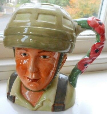 """Royal Worcester """"a Hero Comes Home"""" ~ Limited Edition ~  Poppy Design Exc/cond."""