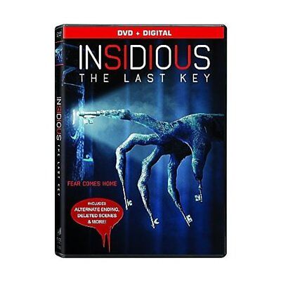 Insidious: The Last Key,Very Good DVD, Leigh Whannell, Lin Shaye, Angus Sampson,
