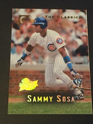2ec414da9f3 1996 Topps PRE-PRODUCTION NNO Players Private Issue Sammy Sosa Cubs  17