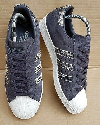 SIZE SUEDE SUPERSTAR UK BLACK EDITION 6 LIMITED 80'S ADIDAS 3Jc1TKFul
