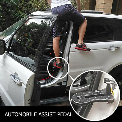 Car Door Latch Hook Step Foot Pedal Ladder for Jeep SUV Truck Portable Folding