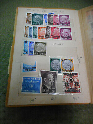 #d309.    Wwii German Stamps Of Occupied Poland  In Album
