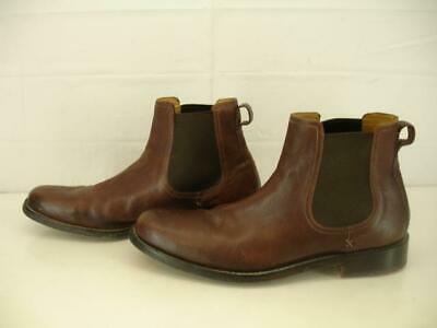 81f1919b02c COLE HAAN MENS 13 M Bernard Chelsea Boots Ankle Slip-On Brown Leather Dress  Shoe