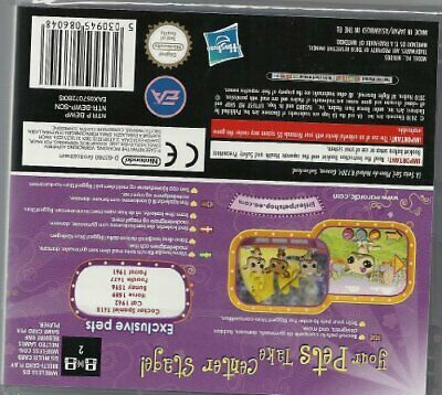 Littlest Pet Shop 3 Biggest Stars Purple Team Game DS - Game  I0VG The Cheap