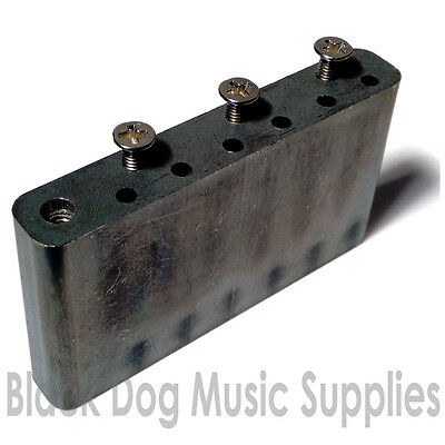 Guitar tremolo block including screws 52.5 string spacing x 39mm