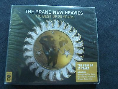 Brand New Heavies The Best Of Rare New Sealed 2 X Cd!