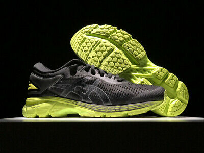 2018 Asics Gel-Kayano 25 Mens Running Shoes (NO 24)Black-green