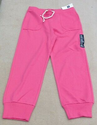 GAP Kids Girls Pink Soft Joggers Jogging Pants Cotton Blend 13 Years XXL