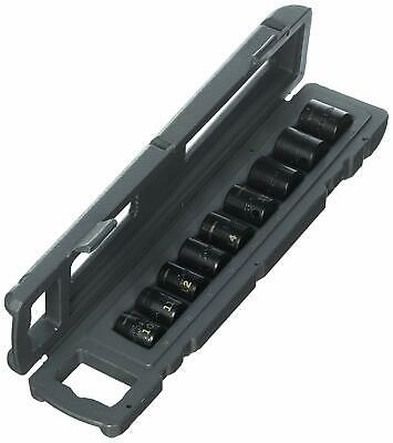 """NEW CRAFTSMAN 915881 9 Piece Easy-to-Read Impact Socket Set, 3/8"""" Drive Metric"""