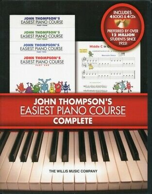 John Thompson's Easiest Piano Course - Complete (Paperback), John...