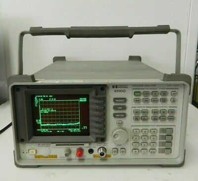 HP Agilent 8590D 9 kHz to 1.8 GHz Portable Spectrum Analyzer