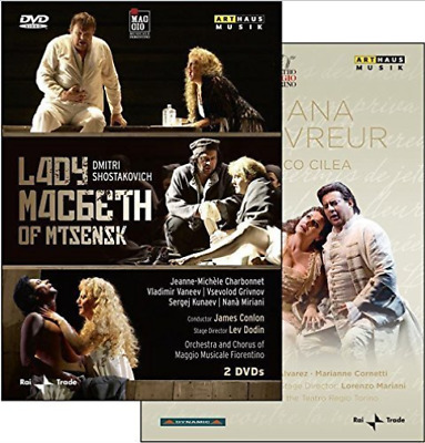 Dmitri Schostakowitsch (190...-Lady Macbeth Von Mtsensk DVD NEW