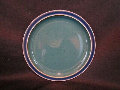 Denby HARLEQUIN - Salad Plate Blue and Green - BRAND NEW