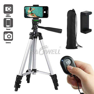 "Professional Camera Tripod Stand Mount Holder 1/4"" Ball Head for Most Cell Phone"