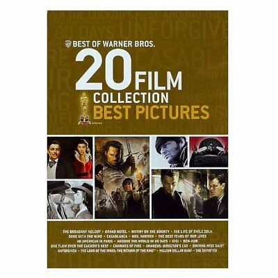 Best of Warner Bros 20 Film Collection: Best Pictures, New DVDs